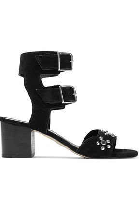 REBECCA MINKOFF Sofia studded suede sandals
