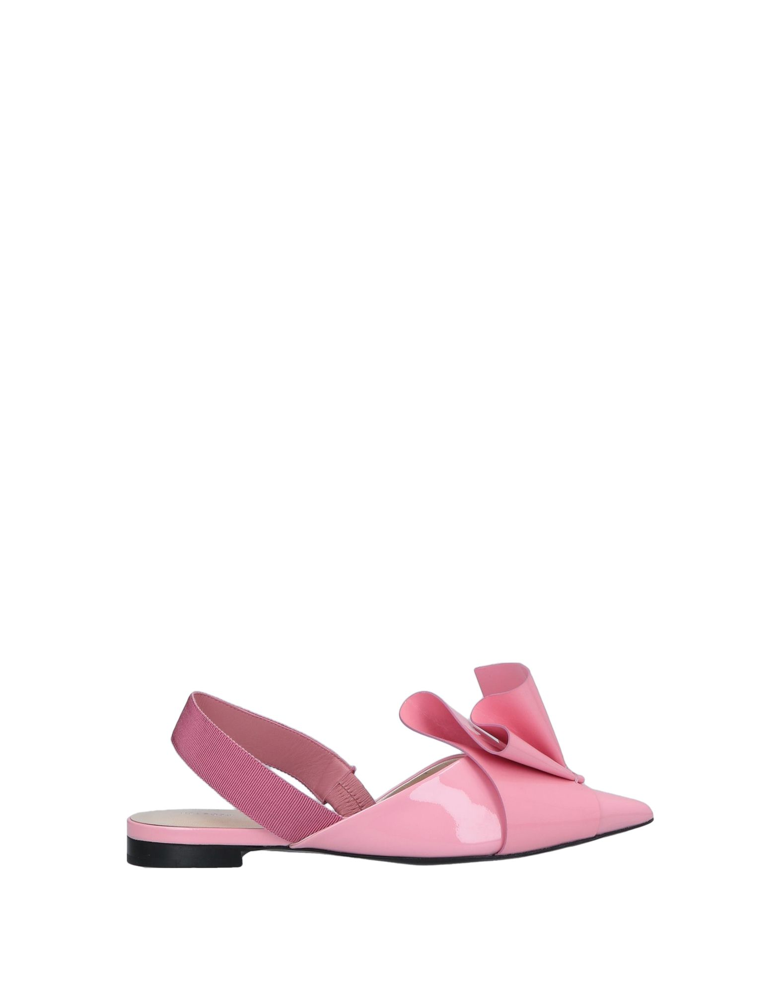 DELPOZO | DELPOZO Ballet Flats 11691483 | Goxip