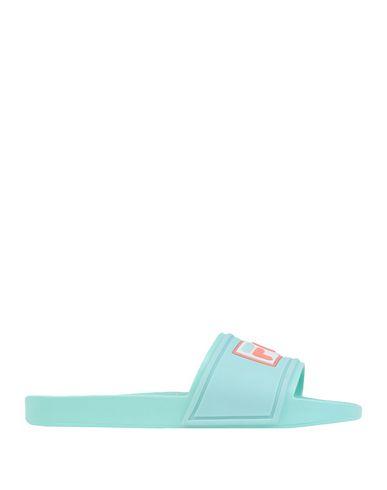 Фото - Женские сандали MELISSA + FILA зеленого цвета
