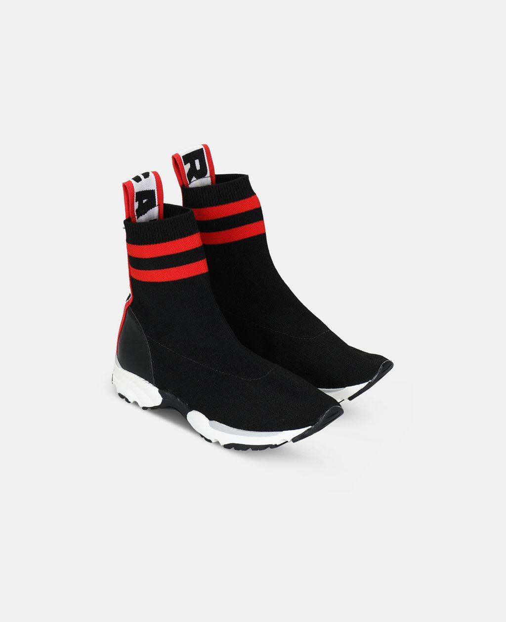 Stella McCartney - Black Sock Sneaker - 3