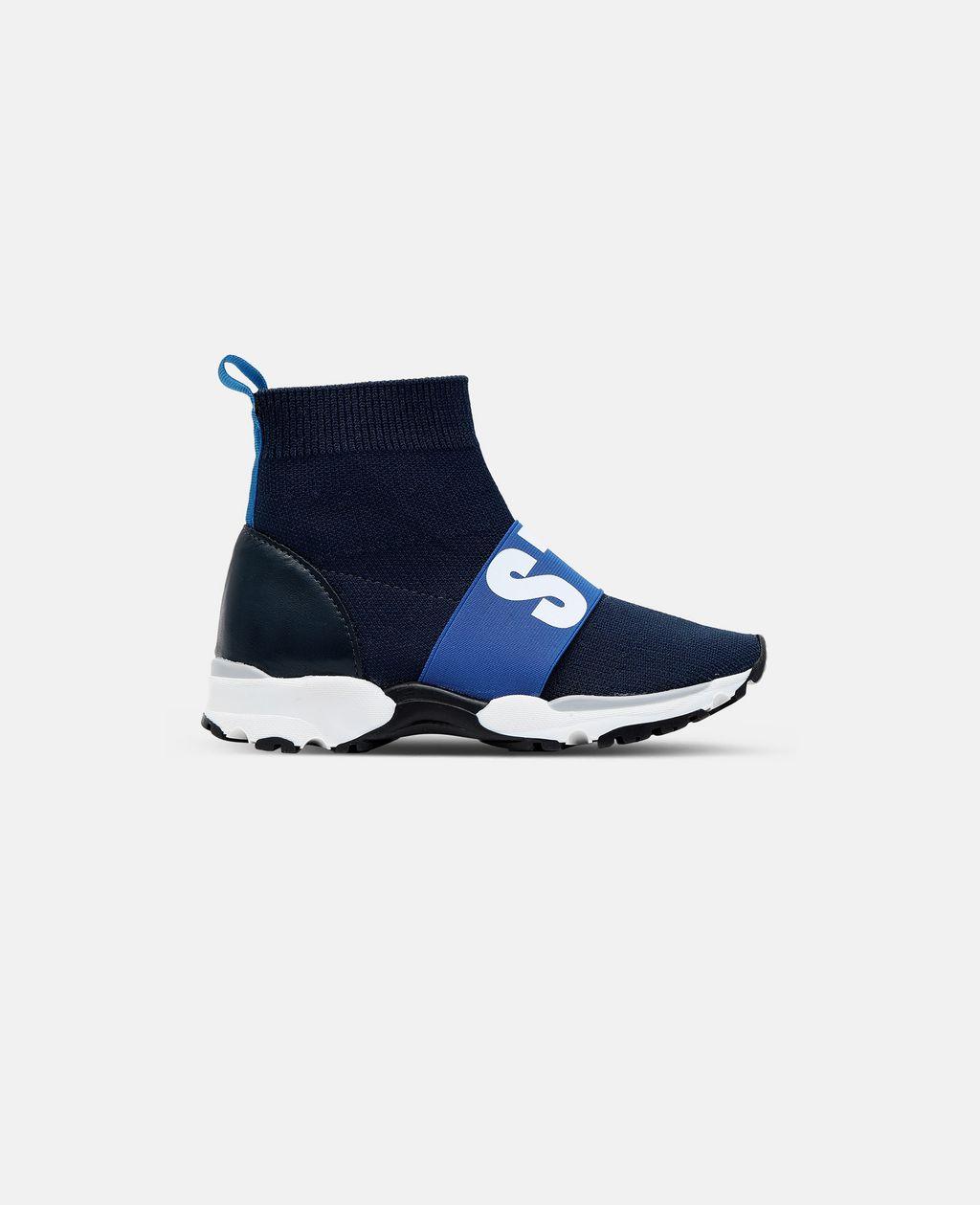 Stella McCartney - Blue / Navy Sock Sneaker - 1