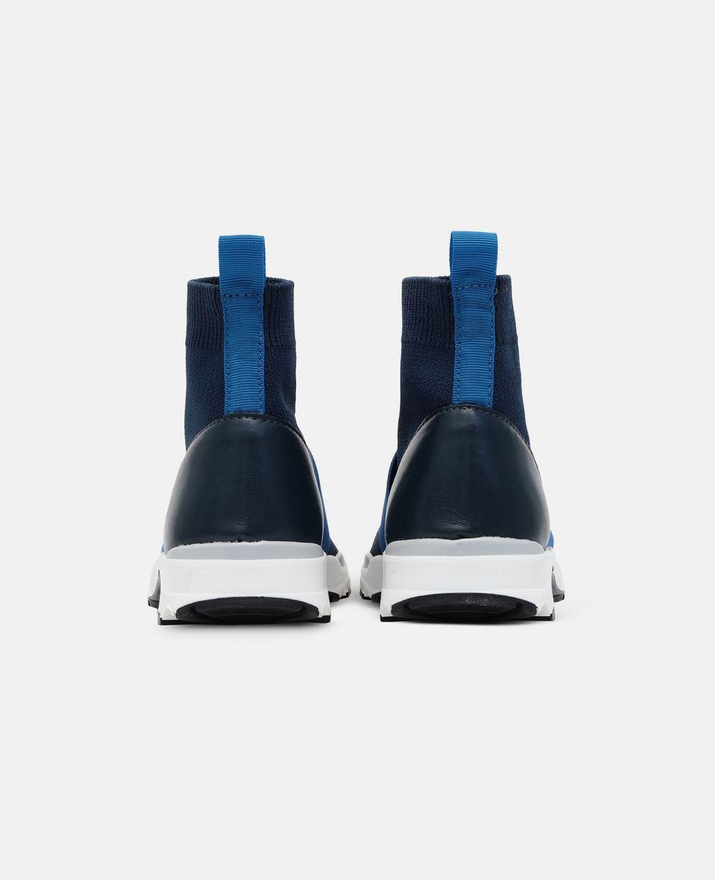 Stella McCartney - Blue / Navy Sock Sneaker - 2