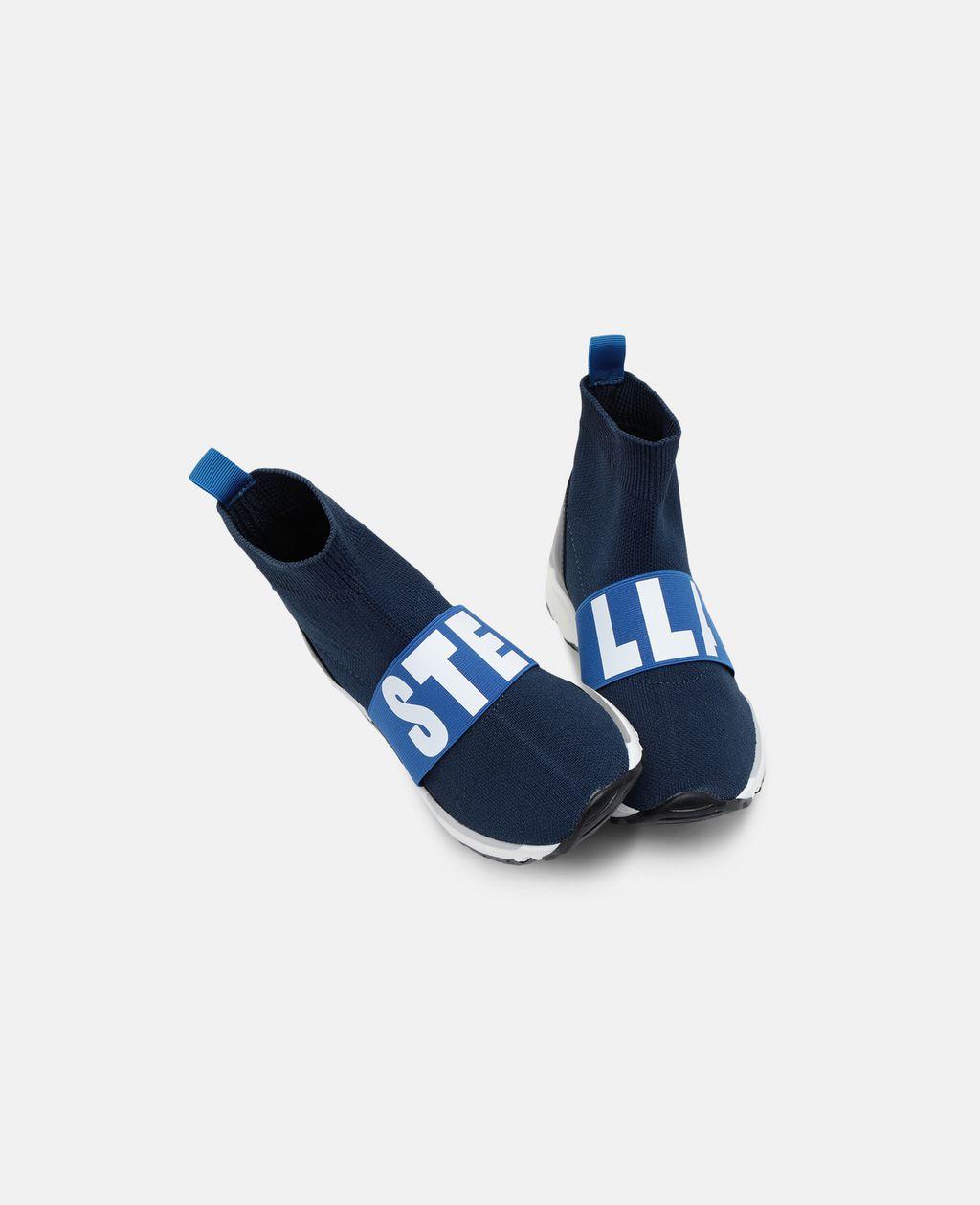 Stella McCartney - Blue / Navy Sock Sneaker - 3