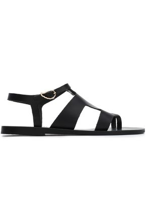 ANCIENT GREEK SANDALS Thira textured-leather sandals