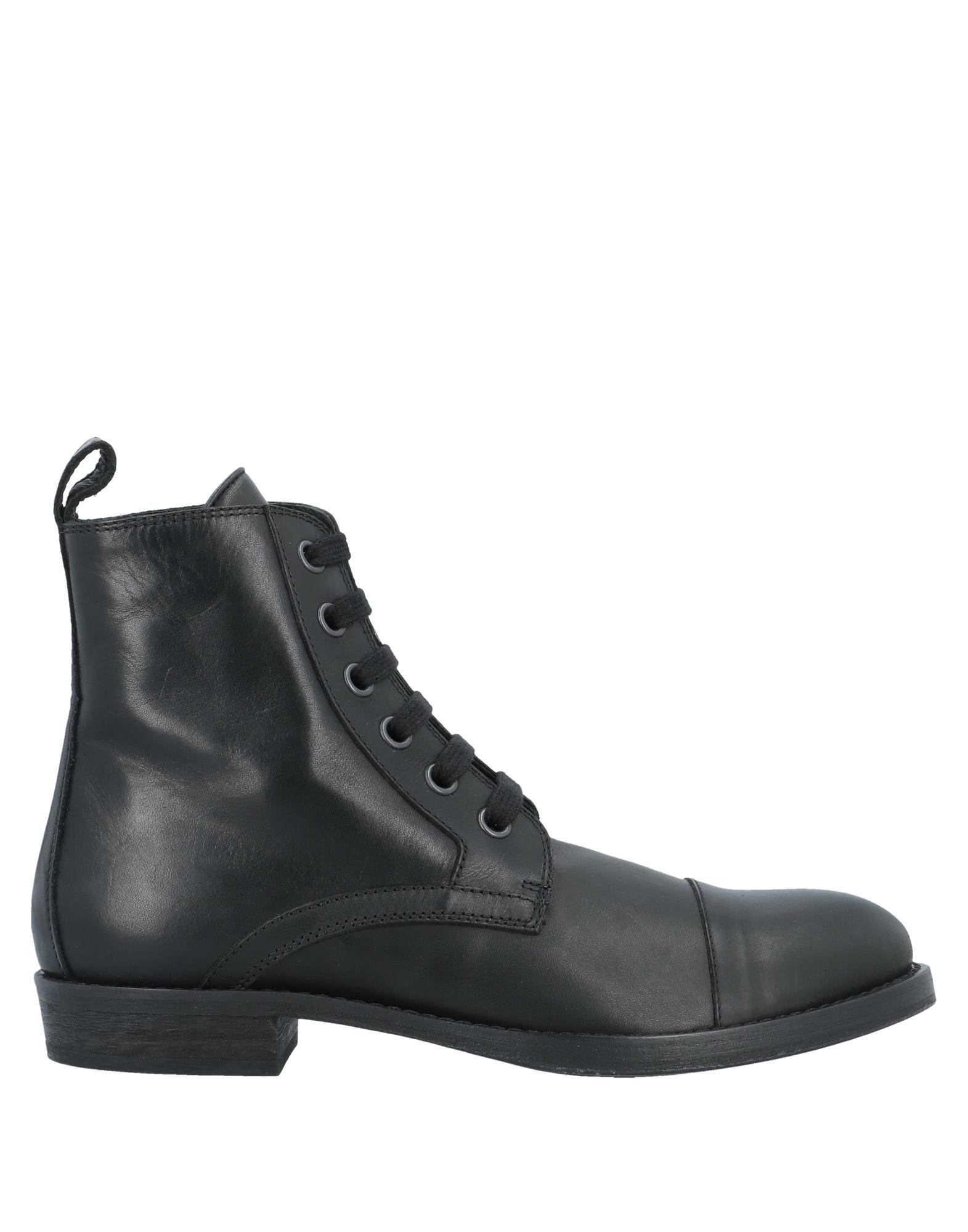 ANN DEMEULEMEESTER Полусапоги и высокие ботинки цены онлайн
