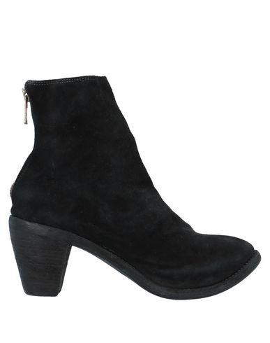 Купить Полусапоги и высокие ботинки от GUIDI черного цвета