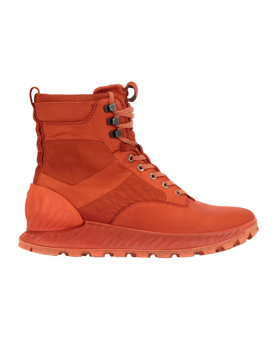 STONE ISLAND S0695 GARMENT DYED LEATHER EXOSTRIKE BOOT CON DYNEEMA® SHOE Man