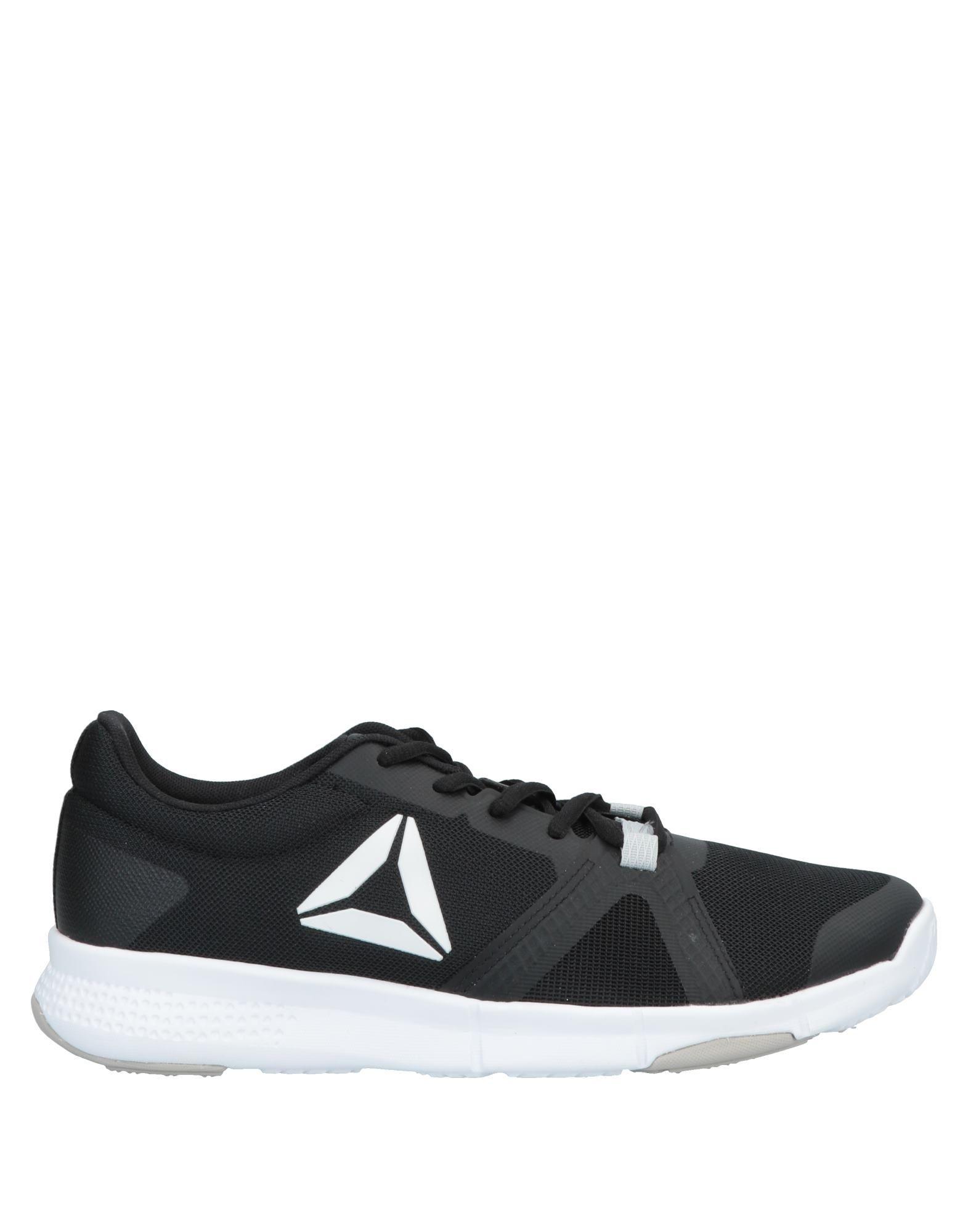 《送料無料》REEBOK メンズ スニーカー&テニスシューズ(ローカット) ブラック 7 紡績繊維 / 指定外繊維