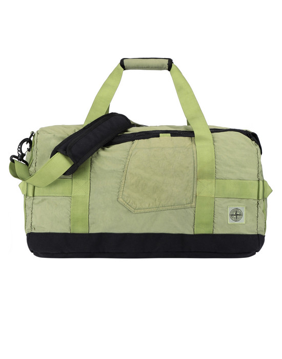 STONE ISLAND 91370 Travel & duffel bag Man Pistachio Green