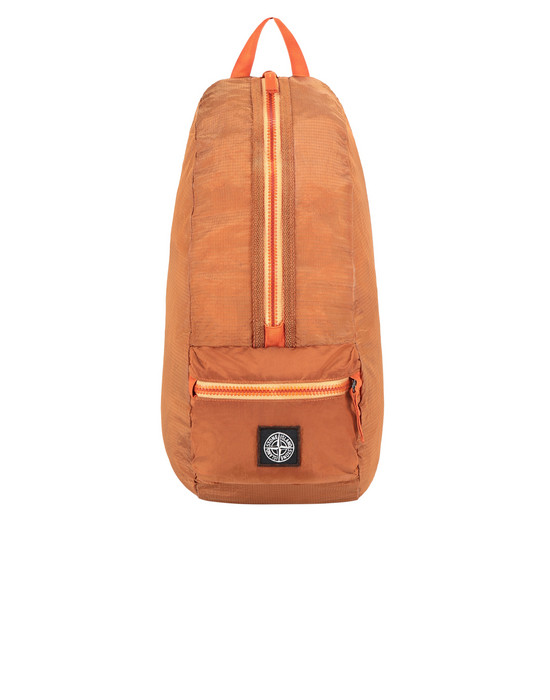 STONE ISLAND 90932 NYLON METAL WATRO RIPSTOP_PACKABLE-TC  Backpack Man Orange