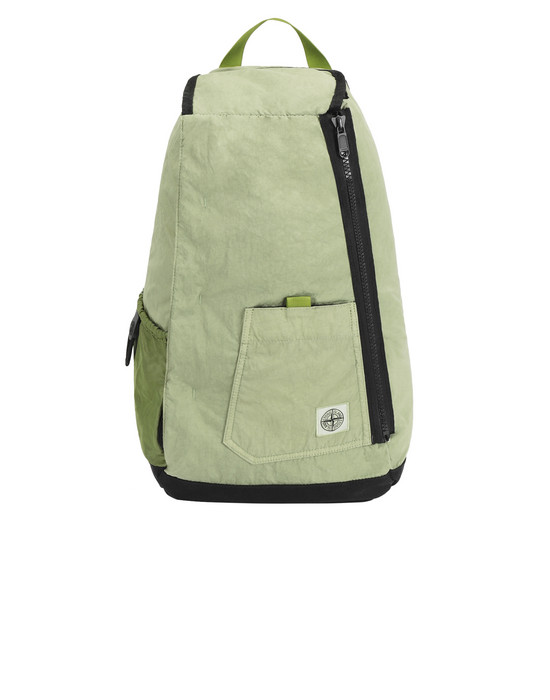 STONE ISLAND 91270 Backpack Man Pistachio Green