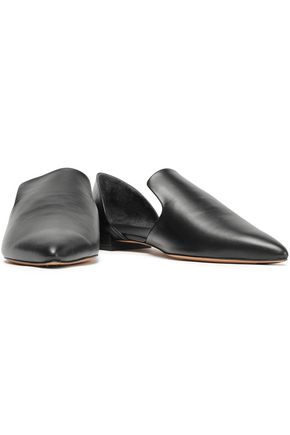 VINCE. Damris leather point-toe flats
