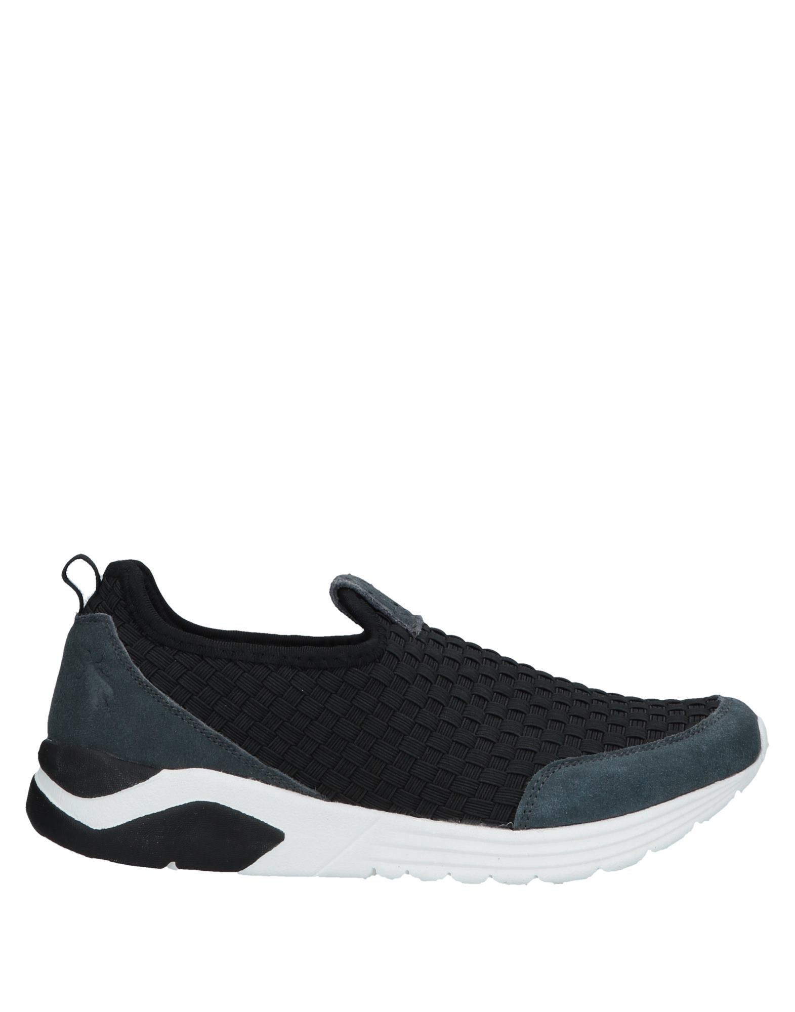 FLY LONDON Sneakers. leather, suede effect, no appliqués, solid color, round toeline, flat, fully lined, rubber cleated sole, contains non-textile parts of animal origin, small sized. Soft Leather, Synthetic fibers