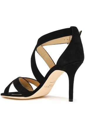 JIMMY CHOO Louise suede sandals