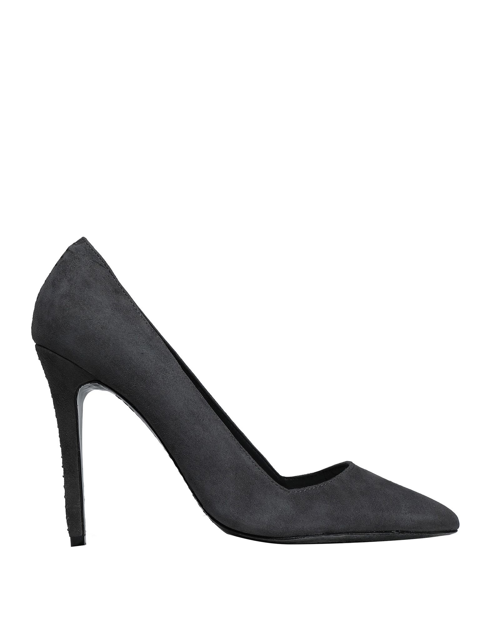 ALICE + OLIVIA Pumps. suede effect, no appliqués, solid color, narrow toeline, spike heel, covered heel, leather lining, leather sole, contains non-textile parts of animal origin. Soft Leather