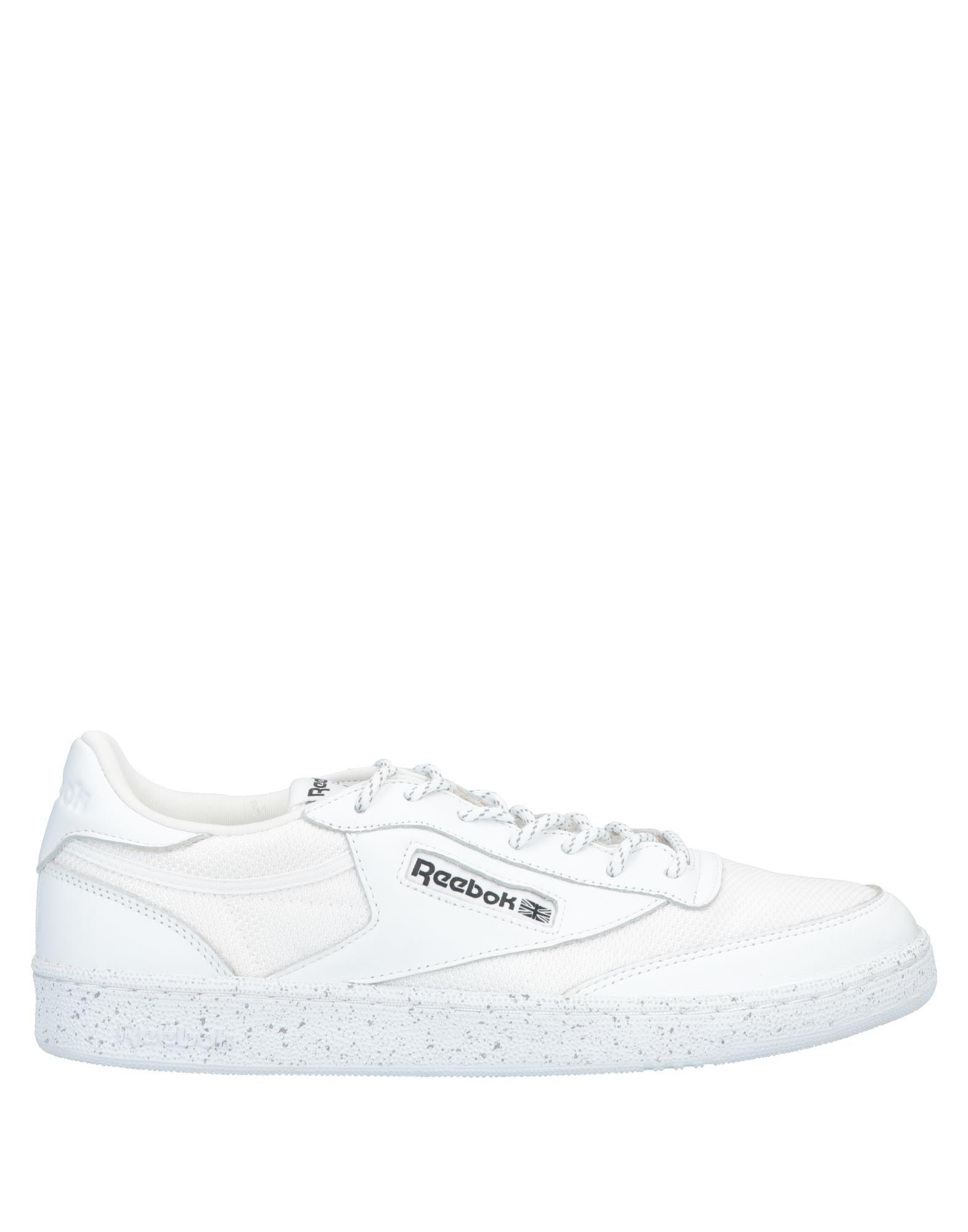 《送料無料》REEBOK メンズ スニーカー&テニスシューズ(ローカット) ホワイト 11.5 革 / 紡績繊維