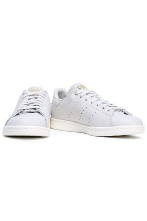 ADIDAS ORIGINALS Stan Smith textured-leather sneakers