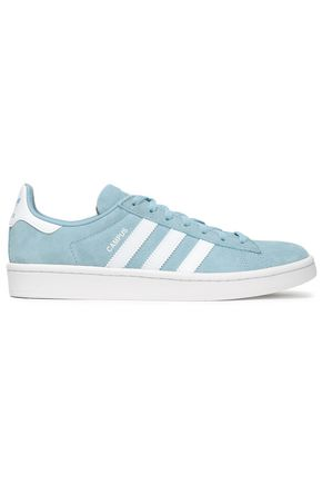 ADIDAS ORIGINALS Campus leather-trimmed suede sneakers
