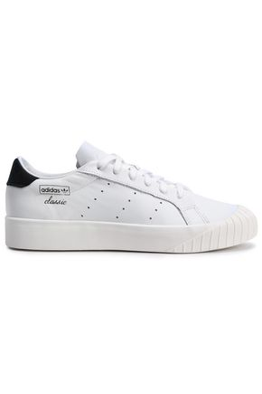 ADIDAS ORIGINALS Everyn perforated leather sneakers