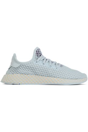 ADIDAS ORIGINALS Deerupt Runner mesh-appliquéd stretch-knit sneakers