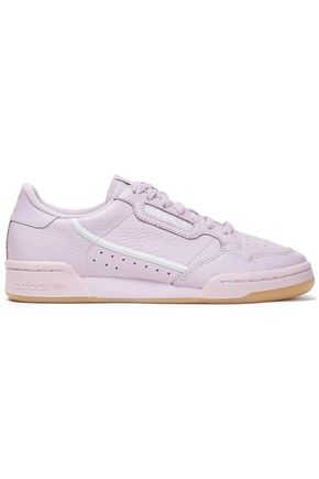 668f472ba ADIDAS ORIGINALS Continental 80 perforated textured-leather sneakers