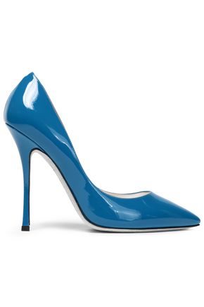 RENE' CAOVILLA Patent-leather pumps