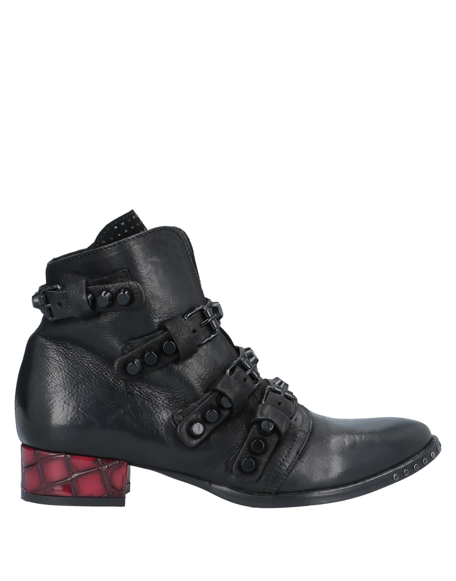 《送料無料》MIMMU レディース ショートブーツ ブラック 36 革