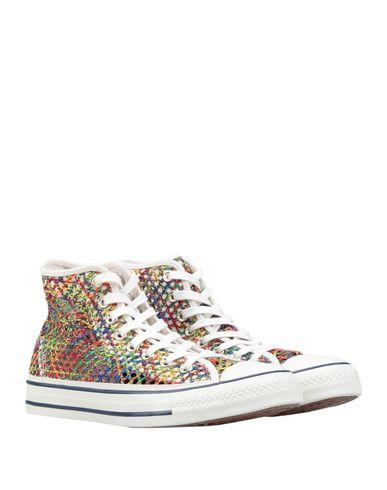 Фото 2 - Высокие кеды и кроссовки от CONVERSE ALL STAR бежевого цвета