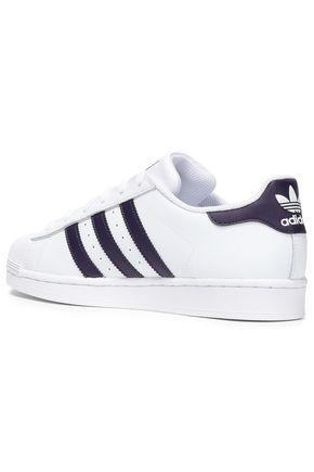 ADIDAS ORIGINALS Superstar leather sneakers