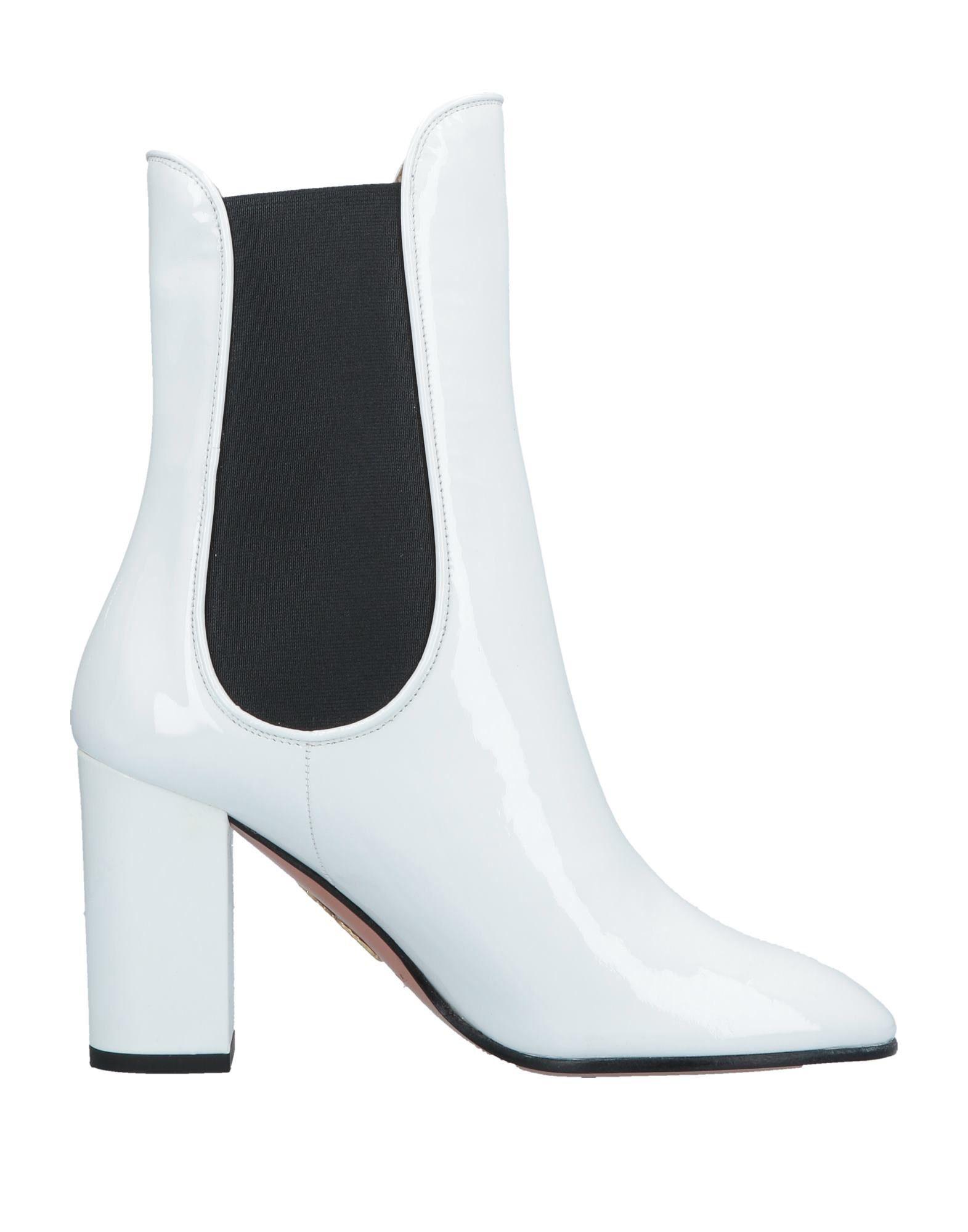 AQUAZZURA Полусапоги и высокие ботинки полусапоги aquazzura полусапоги