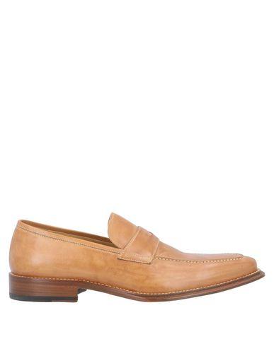 Фото - Мужские мокасины NUOVA VEREGRA® желто-коричневого цвета