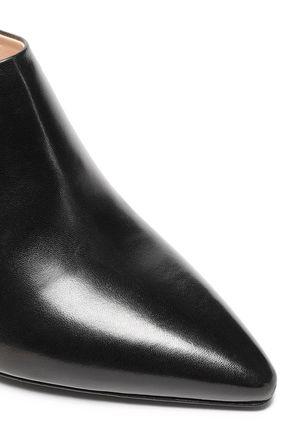 PRADA Leather slingback pumps