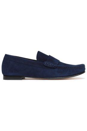STUART WEITZMAN Suede loafers