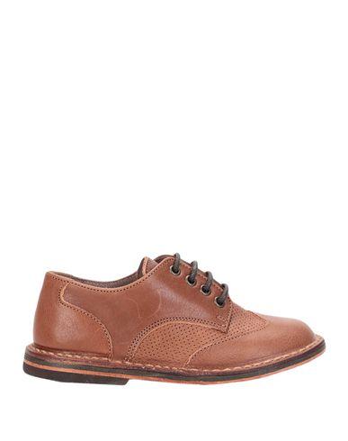 Фото - Обувь на шнурках от PÈPÈ желто-коричневого цвета