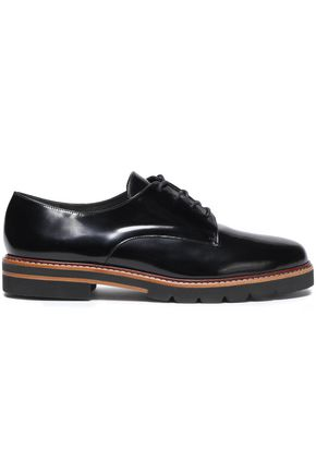 STUART WEITZMAN Patent-leather brogues