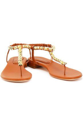 STUART WEITZMAN Studded leather sandals