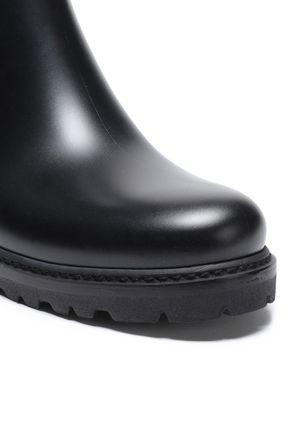 STUART WEITZMAN Leather and PVC boots