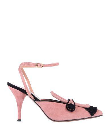 Фото - Женские мокасины  пастельно-розового цвета