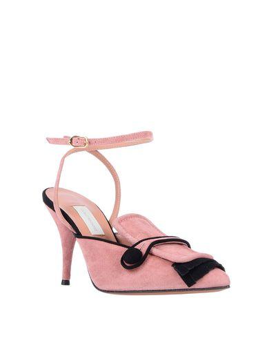 Фото 2 - Женские мокасины  пастельно-розового цвета