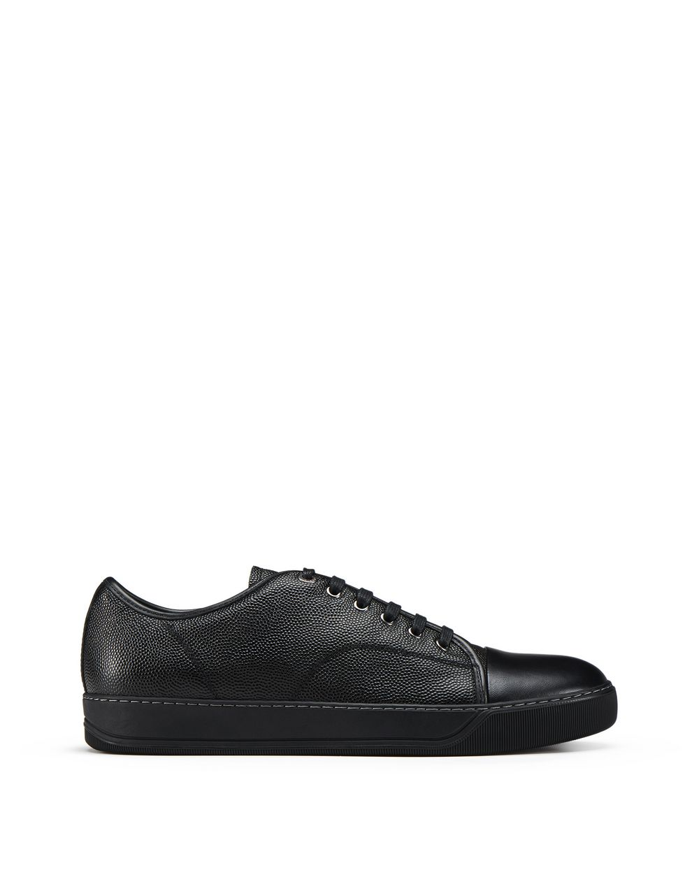 DBB1 GRAINED LEATHER SNEAKERS - Lanvin