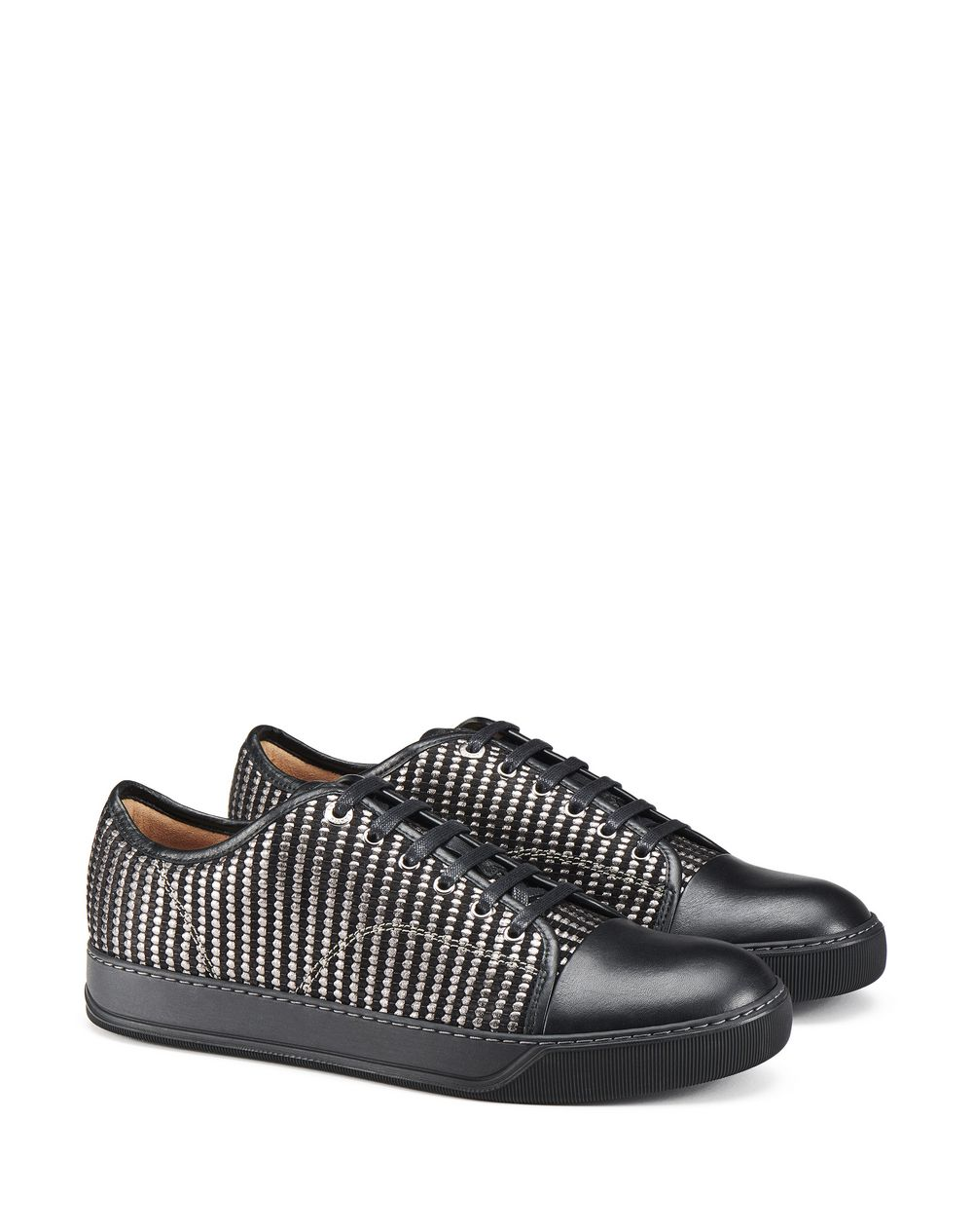 DBB1 WOVEN LEATHER SNEAKERS - Lanvin