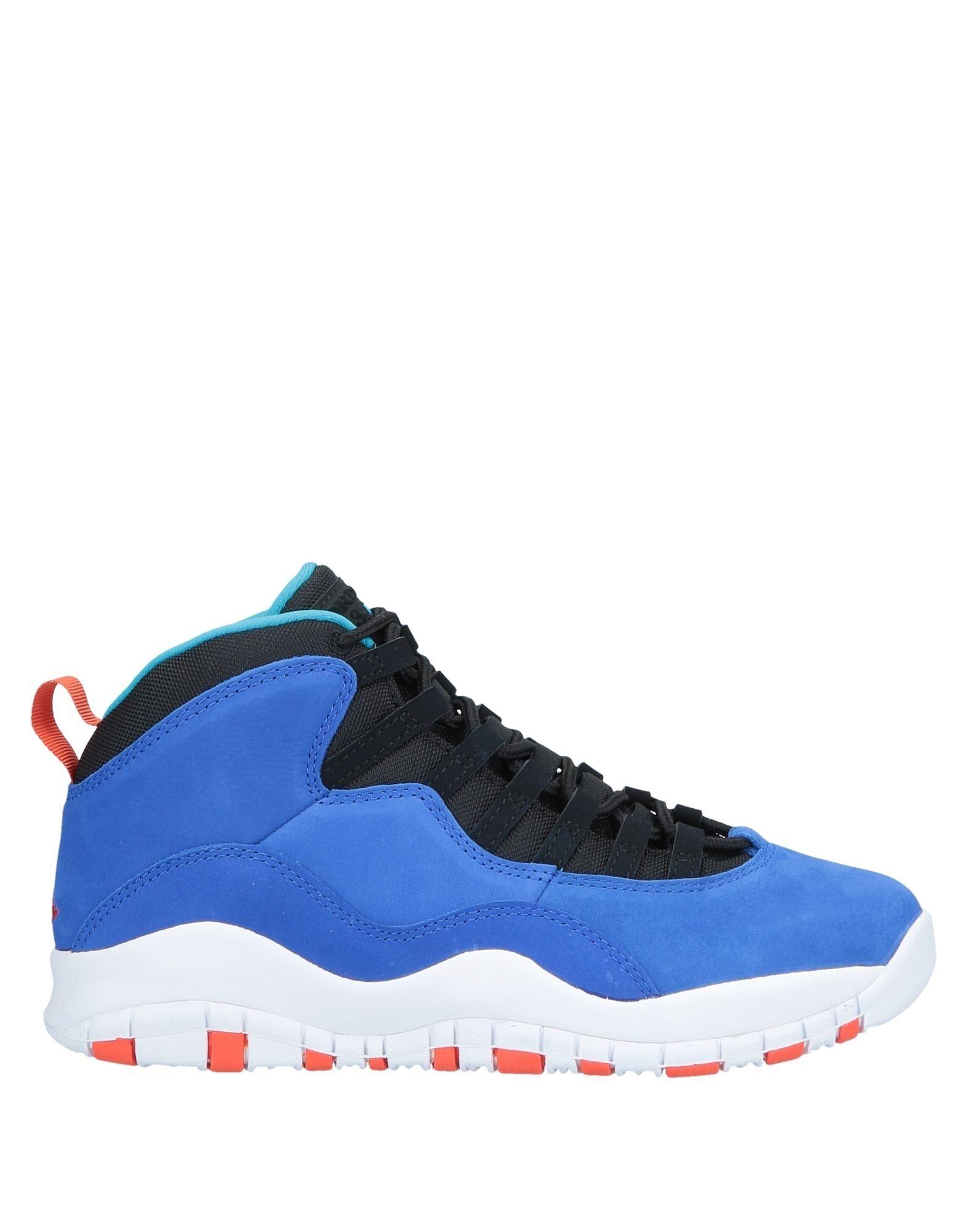 JORDAN Высокие кеды и кроссовки баскетбольные кроссовки nike air jordan jordan 11 legend blue aj11 378037 378038 117