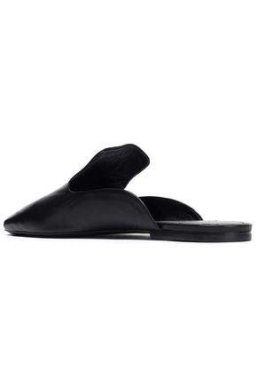 JIL SANDER Leather slippers