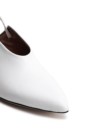 ATP ATELIER Leather slingback pumps