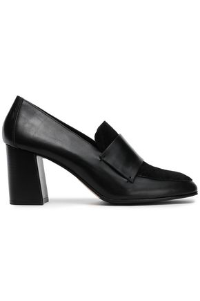 ATP ATELIER Leather and suede pumps