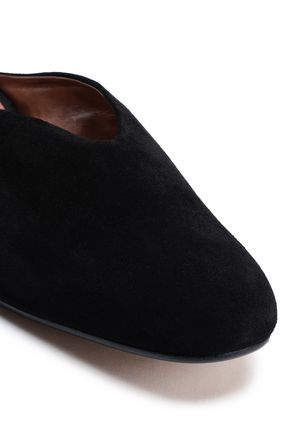 ATP ATELIER Suede slippers