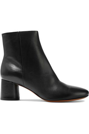 VINCE. Leather ankle boots