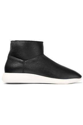 VINCE. Adora shearling ankle boots