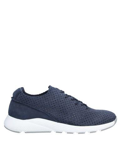 Фото - Низкие кеды и кроссовки от BEYOND темно-синего цвета