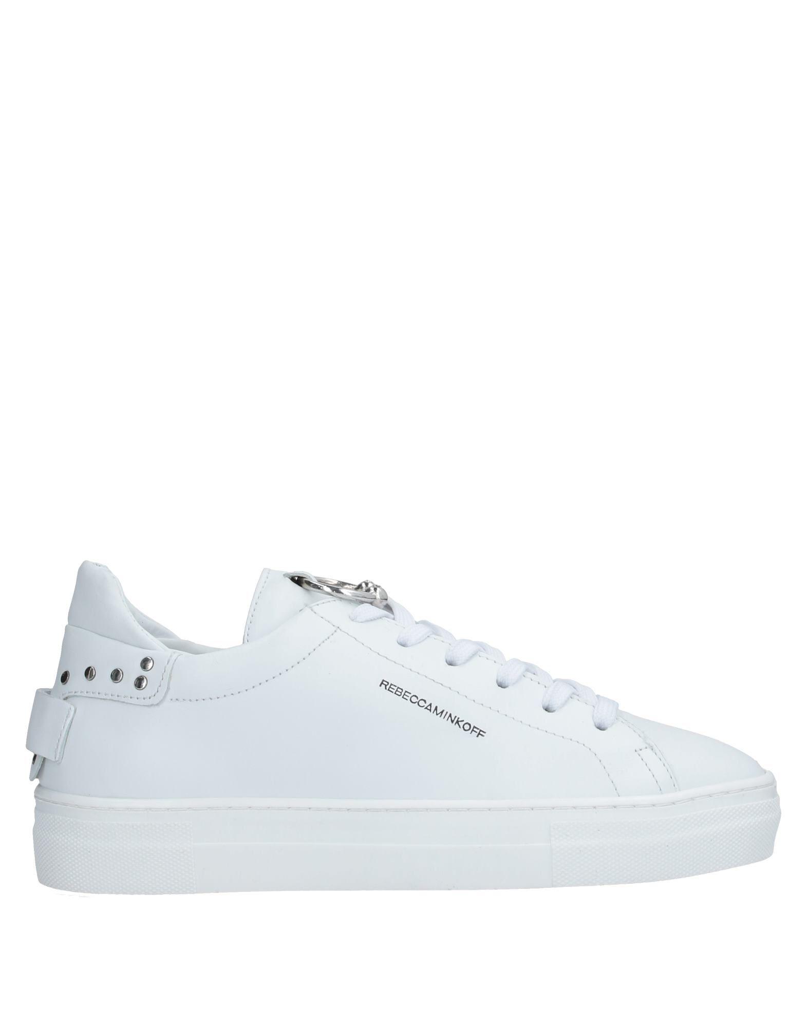 REBECCA MINKOFF Низкие кеды и кроссовки rebecca white высокие кеды и кроссовки